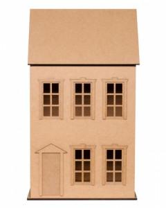 Кукольный домик Городской дом (для самостоятельной сборки и