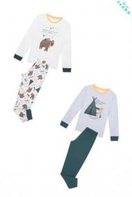 LACIVERT Erkek Çocuk Planets 4 Li Pijama Takımı