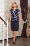 КОСТЮМ 057.10.2 блуза+юбка