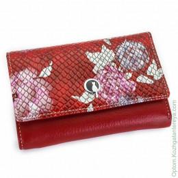 Маленький женский кожаный кошелек Sergio Valentini СВ 8135-0