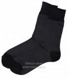 Н408 Мужские носки (черный)