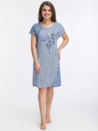 Платье-туника Ирма (3446). Расцветка: полоса