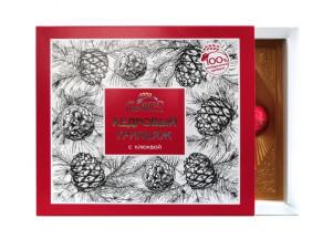 Кедровый грильяж в шоколадной глазури с клюквой, 120 г