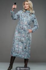 Пальто  Модель 2646K7001 зеленый Artribbon-Lenta