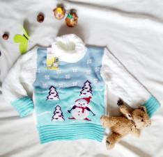 Детский трикотажный свитер