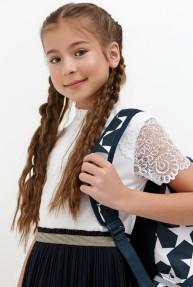 Блузка детская для девочек Byrnaya белый