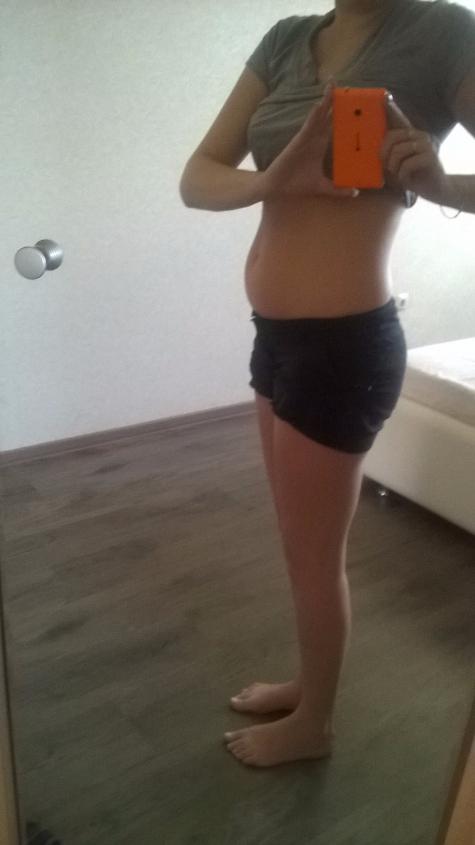 8 недель беременности фото животиков