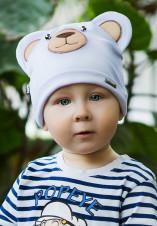 1Shumi Design Шапка детская Весна Мишка