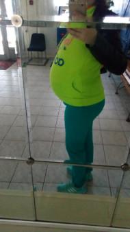 Фото животиков на 36 неделе беременности