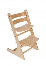 Детский регулируемый стульчик РостОк, цвет берёза