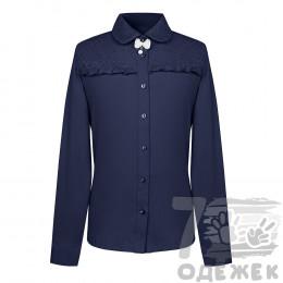 066Z Блузка для девочки с длинным рукавом
