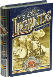 """Чайная книга""""Чайные легенды-Эрл Грей"""" 100 ж\б."""