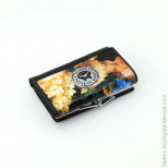 Маленький женский кожаный кошелек Sergio Valentini СВ 8074-0