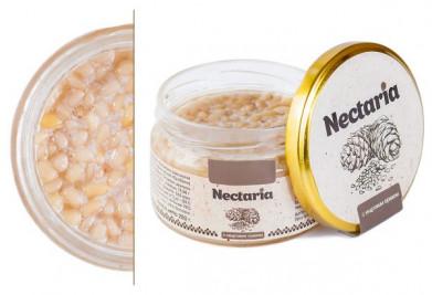 мед Nectaria с кедровым орехом. в наличии 3 банки по250