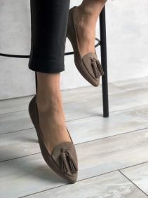 Стильные балетки с зауженным носком. New collection SS/20