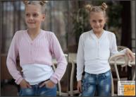 """Кофта для девочки""""Болеро"""" 0121415"""