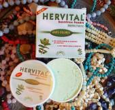 Марокканский зубной порошок лечебный освежающий на мяте и ча