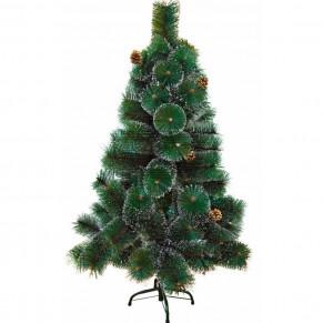 Искусственная елка с заснеженными кончиками - высота 120 см.