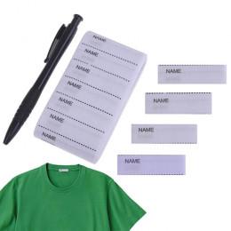 Набор 200 ярлыков на одежду + ручка