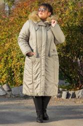 Пальто зимнее длинное Венера 018_261388 от Safika