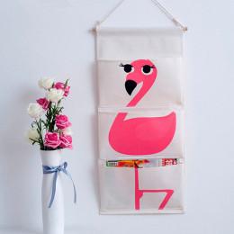Карманы на стену Фламинго