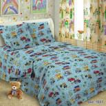 Постельное белье в детскую кроватку 1657 поплин