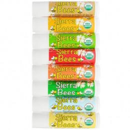 Натуральные бальзамы для губ Sierra Bees (8 шт.), в наличии