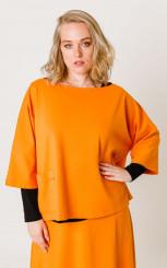 блуза 41164 карри
