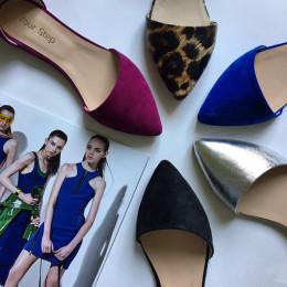 Элегантные кожаные и замшевые балетки. Новая коллекция!