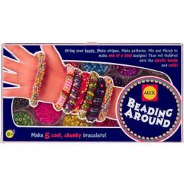 Набор для плетения браслетов из бисера