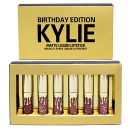 """Матовый блеск для губ """"Kylie"""" 6pcs"""