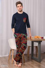 Теплая мужская пижама