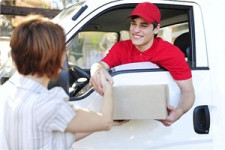 Раздача заказов из машины