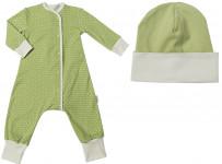 """Пижама+шапка """"Нежно-зеленый"""""""