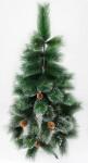 Искусственная елка с заснеженными кончиками - высота 90 см.