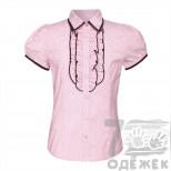 1005D-16117-1 Блузка для девочки с коротким рукавом