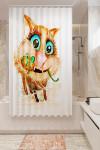 Фотошторы для ванной 10675