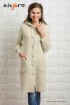 Пальто с капюшоном Алегро М-0469