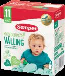 Cухая зерно-молочная смесь Semper «Мультизлаковый Valling»