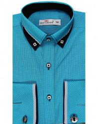Рубашка для мальчика, Dast cardin, бирюза