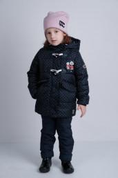 Комплект (куртка, брюки (верхний)) для девочки