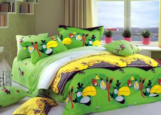 Angry birds green 1,5-спальный
