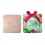Натуральное скраб-мыло с экстрактом розы, 100 гр.