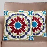 Подушка декоративная 45х45см полная вышивка №8