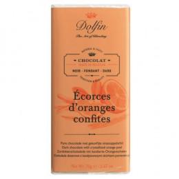 Тёмный шоколад с цедрой апельсина, 70 гр