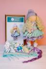 K12 Лиза Набор для шитья куклы