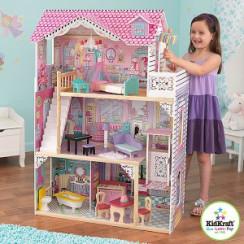 Кукольный дом  АННАБЕЛЬ с мебелью