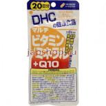 DHC Мультивитамины, минералы, коэнзим Q10, курс на 20 дней
