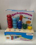 Деревянная игрушка -Пирамидка-Счет