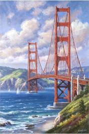 Вышивка стразами 40*50 * Северный мост